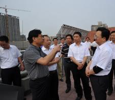 景俊海副省长莅临公司太阳能betcmp系统实验基地参观指导