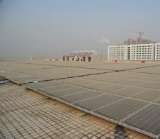 西安半导体产业园1MWbetcmp建筑一体化项目