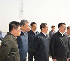 省委常委、省委组织部长毛万春莅临定边电站